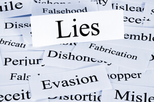 Photo of lies