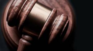 Closeup of gavel